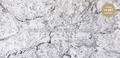 Кварцевый агломерат Vicostone White Fusion (New) BQ 8825 СЛЭБ 30 mm 3050Х1440